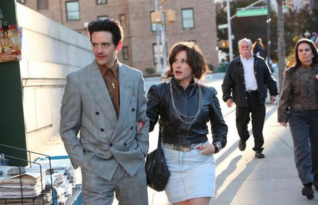 """Patricia Arquette and Vincent Piazza chasing their mob dreams. Photo: """"The Wannabe"""""""