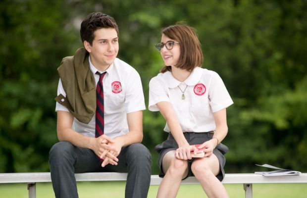 """Nat Wolff and Emma Roberts as high school misfits Ed and Eloise in """"Ashby."""" Photo: Peter Taylor"""