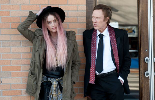 """Angsty musician Jude (Amber Heard) with her father Paul (Christopher Walken) in """"When I Live My Life Over Again."""" Photo: When I Live My Life Over Again"""