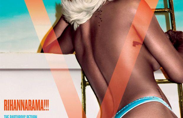 Rihanna on the cover of V Magazine. Photo: Steven Klein/V Magazine.
