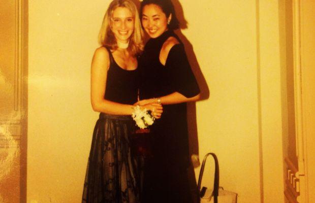 Photo: Aya Kanai (at right)