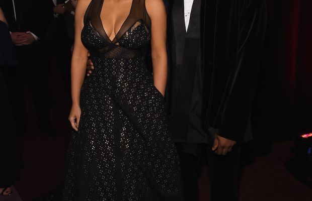 Kim Kardashian and Kanye West at the Time 100 Gala. Photo: Larry Busacca/Getty Images