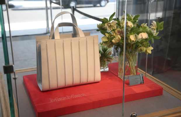 Max Mara and Renzo Piano collaborated on a commemorative bag. Photo: Neilson Barnard/Getty Images