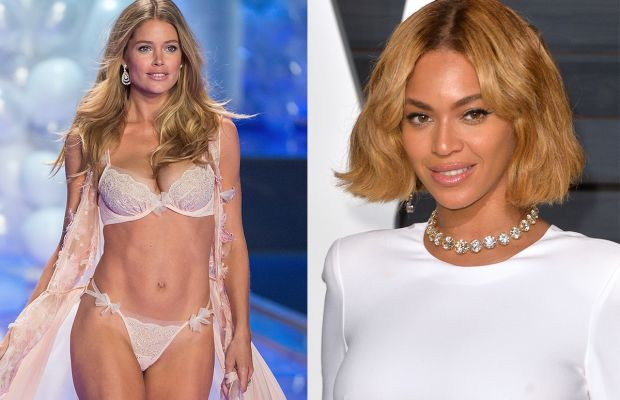 Doutzen Kroes and Beyoncé. Photos: Michael Stewart/Getty Images and Anthony Harvey/Getty Images