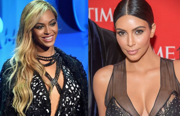 Beyoncé and Kim Kardashian's beauty crosses cultural and geographical divides. Photos: Jamie McCarthy & Mark Salgiocco/Getty Images