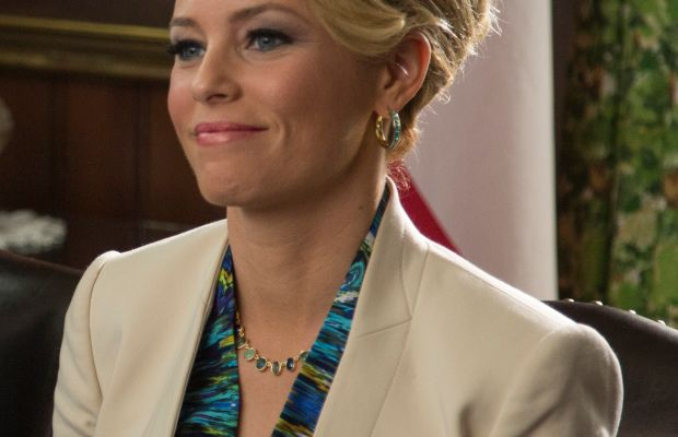 Elizabeth Banks as Gail, probably in the midst of saying something totally offensive. Photo: Richard Cartwright / Universal Pictures