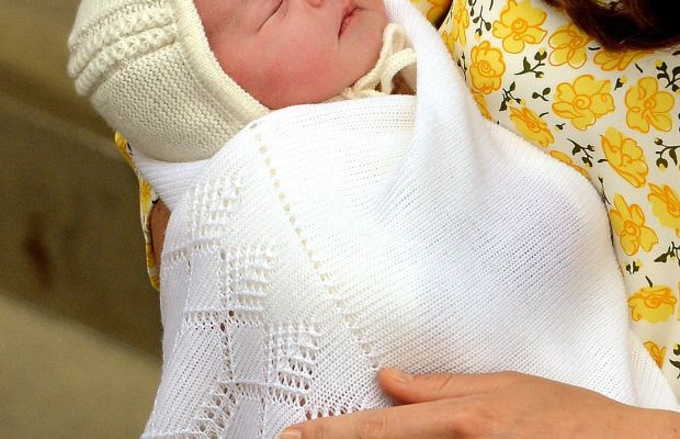 The new princess. Photo: George Stillwell/AFP/Getty Images