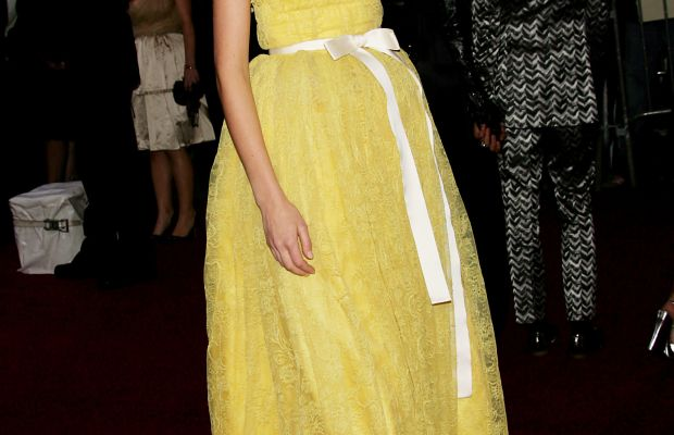 Caroline Trentini at the 2007 Met Gala. Photo: Evan Agostini/Getty Images