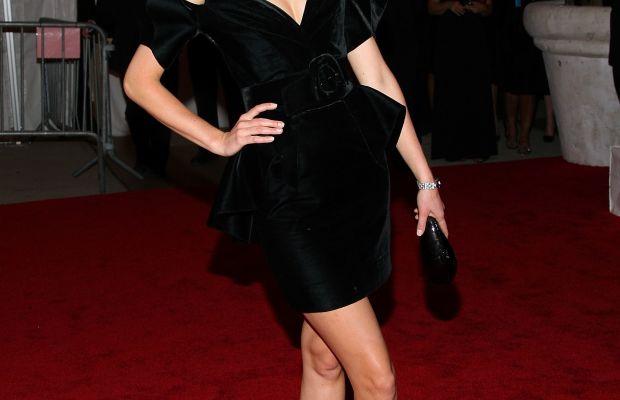Caroline Trentini at the 2008 'Superheroes: Fashion and Fantasy' themed Met Gala. Photo: Stephen Lovekin/Getty Images
