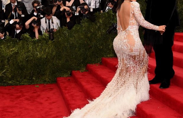 Definitely shows off that internet-breaking ass. Photo: Getty Images