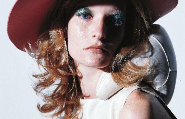 Kristen Owen photographed by Nathanel Goldberg, styled by Emmanuelle Alt.