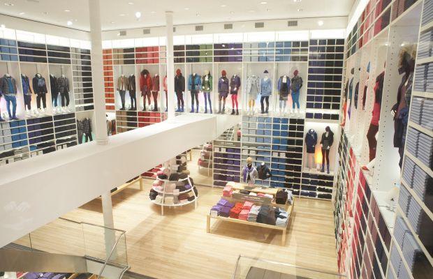 A picture of Uniqlo's Soho store location in NYC. Photo: Uniqlo