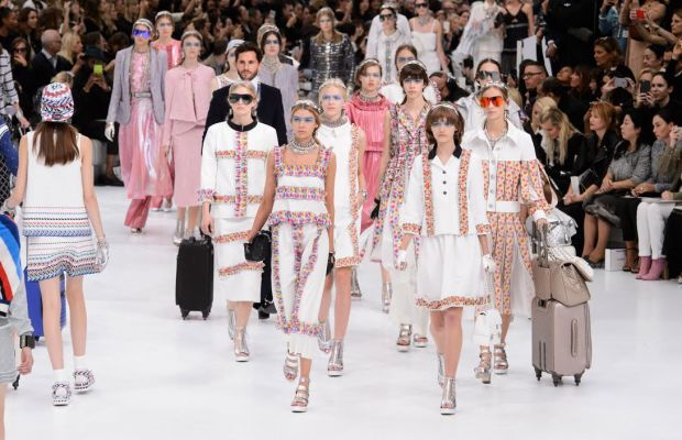 Chanel's spring 2016 show. Photo: Imaxtree
