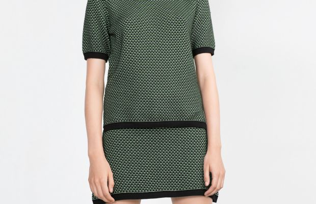 Zara Jacquard Sweater, $25.90, available at Zara.