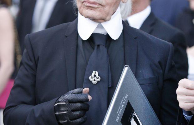 Karl Lagerfeld. Photo: Patrick Aventurier/Getty Images