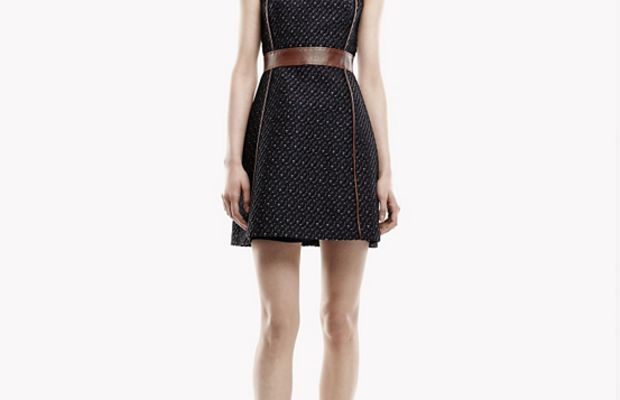Theory Calvino W Dress in Heighten Tweed, $297 (from $495), available at Theory. Photo: Theory