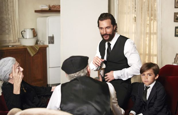 """Behind the scenes: Matthew McConaughey for Dolce & Gabbana's """"The One"""" fragrance. Photo: Dolce & Gabbana"""