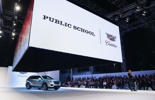 The big reveal. Photo: Cadillac