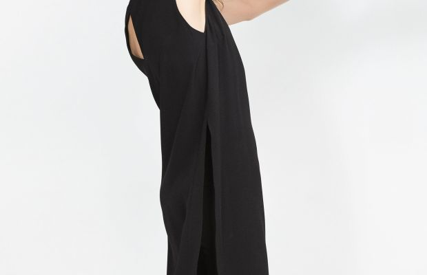 Tunic with side slits, $69.90, available at Zara.