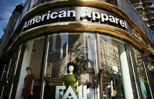 An American Apparel store in New York City. Photo: Spencer Platt/Getty Images