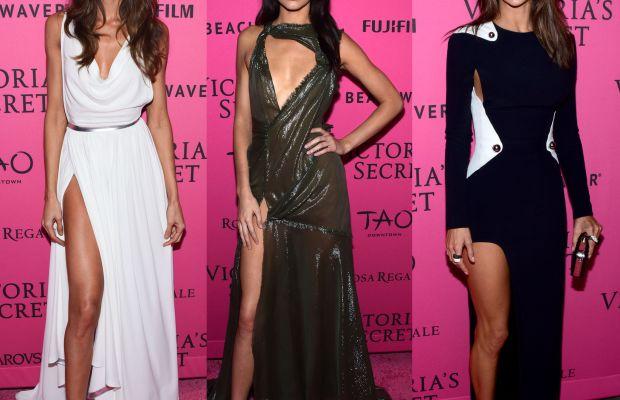 Izabel Goulart, Kendall Jenner and Alessandra Ambrosio. Photo: Grant Lamos IV/Getty Images