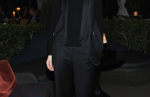 Cate Blanchett at a Net-a-Porter dinner in Hollywood this week. Photo: Donato Sardella/Getty Images