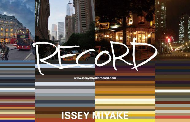 Issey Miyake's holiday 2015 collection inspiration. Photo: Issey Miyake