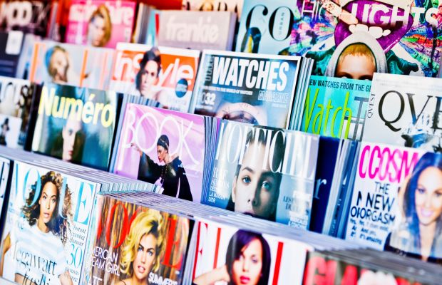 A L.A. magazine newsstand. Photo: Anna Bryukhanova/iStock by Getty Images