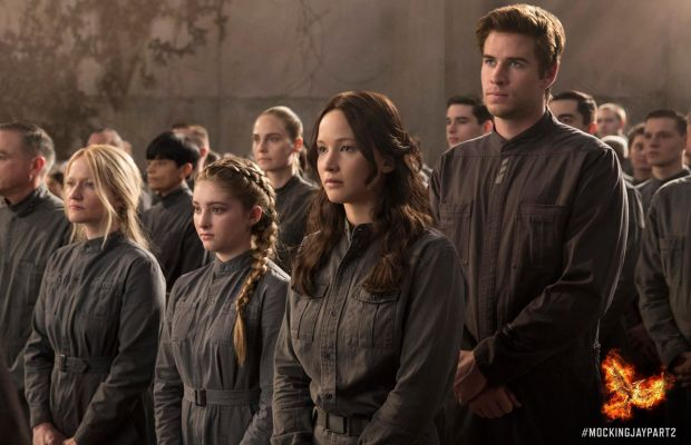 You can shorten it and wear it again! Katniss and her family and Gale at Finnick's wedding. Photo: Hunger Games/Facebook