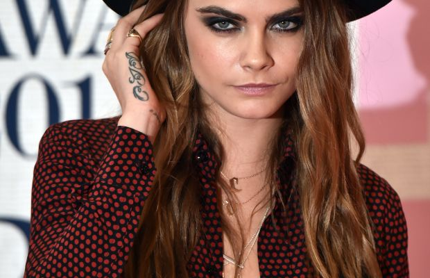 One of Bang Bang's favorite clients, model and actress Cara Delevingne. Photo: Leon Neal/Getty Images