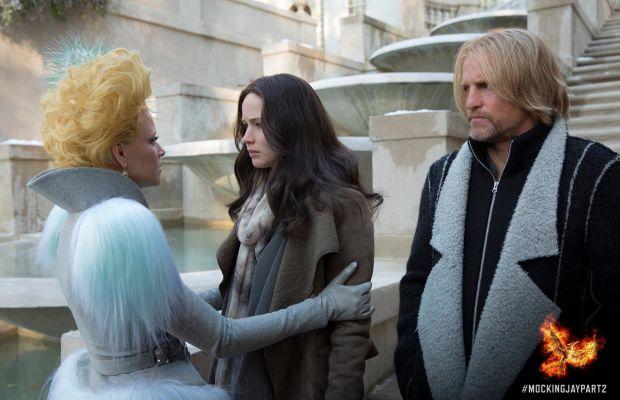Effie + Haymitch forever. Photo: Hunger Games/Facebook
