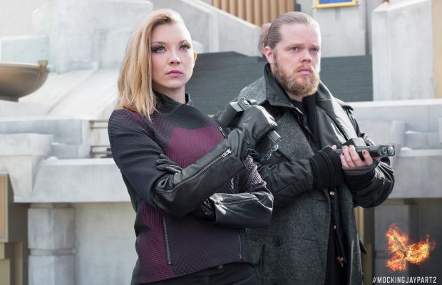 Does Cressida wear sunscreen on the bald side? Asking for a friend. Photo: Hunger Games/Facebook
