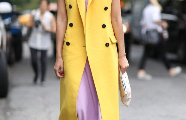 Caroline Issa at New York Fashion Week in September. Photo: Imaxtree