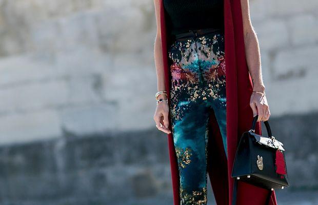 Helena Bordon at Paris Fashion Week in October. Photo: Imaxtree