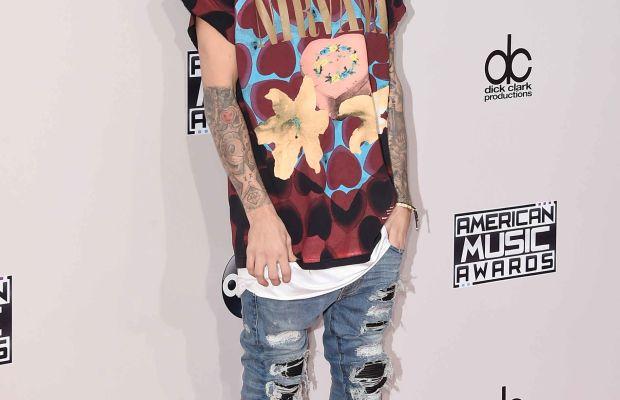 Justin Bieber at the 2015 American Music Awards. Photo: Jason Merritt/Getty Images