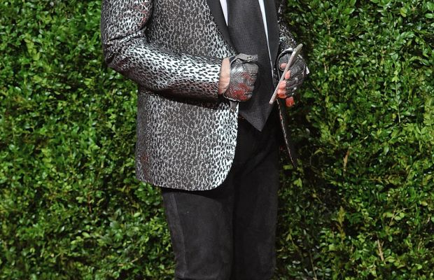 Karl Lagerfeld at the 2015 British Fashion Awards. Photo: Anthony Harvey/Getty Images