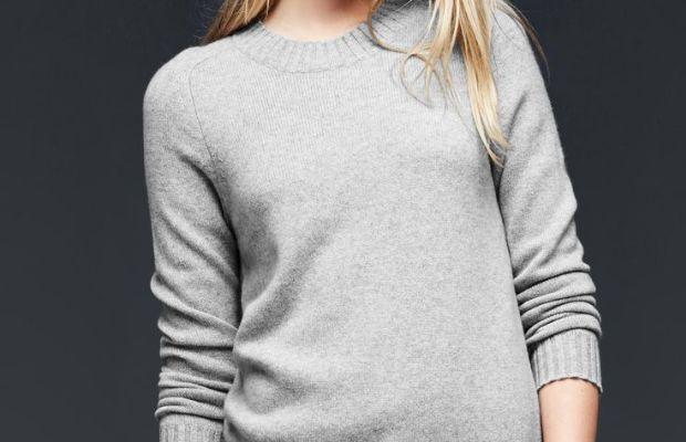 Gap cashmere crewneck sweater, $148, available at Gap.