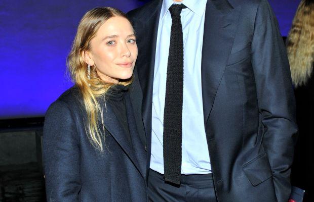 The happy newlyweds: Mary-Kate Olsen and Olivier Sarkozy. Photo: Donato Sardella/Getty Images