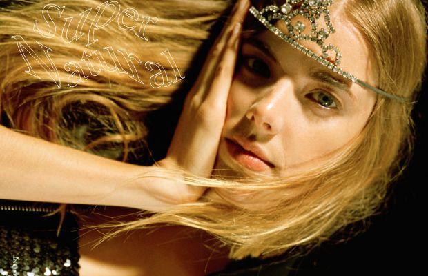 Aggy Deyn in Saint Laurent for Wonderland Magazine. Photo: Wonderland Magazine
