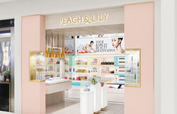 Peach & Lily's K-beauty shop-in-shop in Macy's. Photo: Peach & Lily
