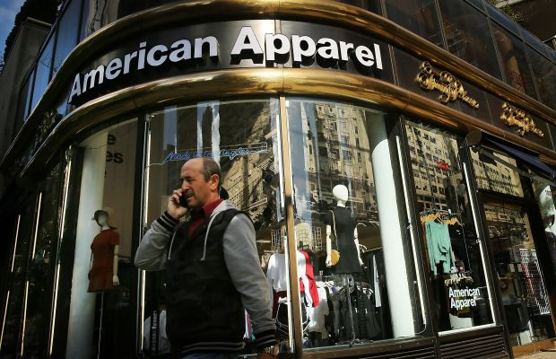 The American Apparel saga continues. Photo: Spencer Platt/Getty Images