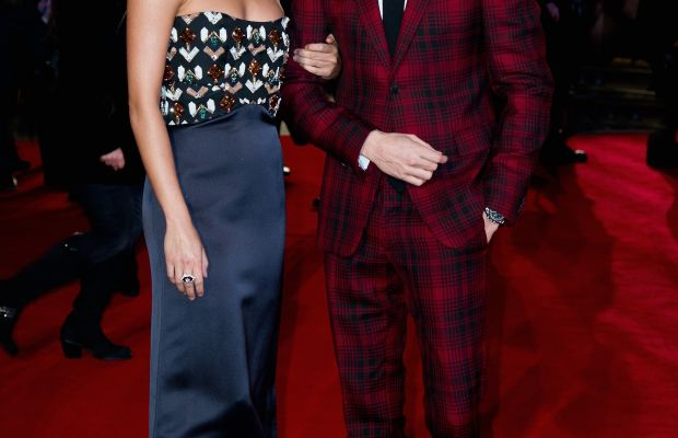 Alicia Vikander and Eddie Redmayne attend premiere of 'The Danish Girl' in London. Photo: Eamonn M. McCormack/Getty Images