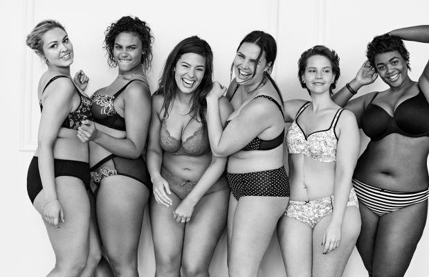Lane Bryant's model squad. Photo: Lane Bryant