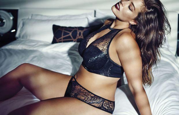 Ashley Graham models her Addition Elle collection. Photo: Addition Elle