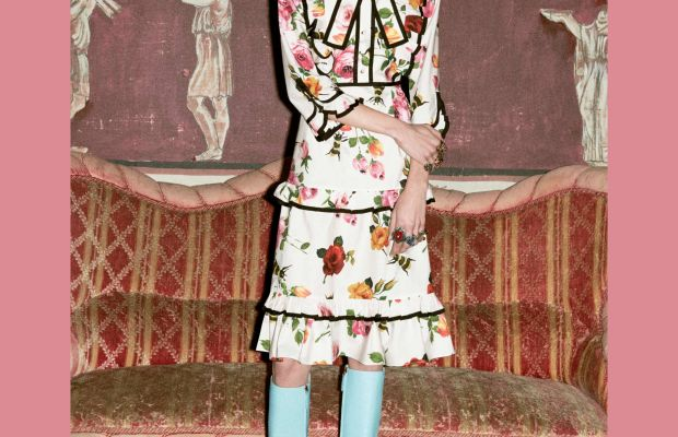 A look from Gucci's pre-fall 2016 collection. Photo: Gucci