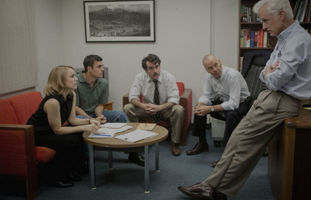 The set designers also used a great deal of restraint in this film. Photo: SpotlightTheFilm.com