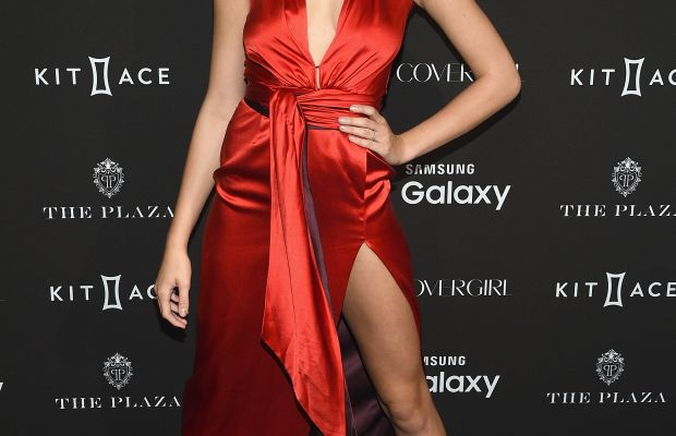 Hailey Clauson at the 2015 Harper's BAZAAR ICONS Event at The Plaza Hotel. Photo: Dimitrios Kambouris/WireImage/Getty Images