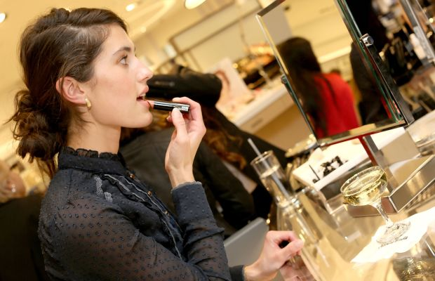 A shopper at Neiman Marcus Beverly Hills. Photo: Rachel Murray/Getty Images for Neiman Marcus Beverly Hills