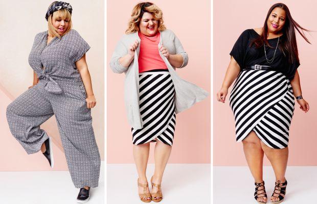 From left to right: Gabi Gregg, Nicolette Mason, Chastity Garner. Photos: Target