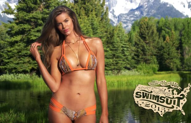 Robyn Lawley is a 2015 SI Rookie. Screengrab: Sports Illustrated/YouTube